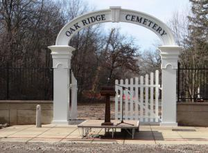 OAK RIDGE-DEDICATION OF ORIGINAL ENTRANCE-DEC 3-2014-By Donna Catlin (10)