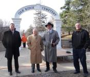 OAK RIDGE-DEDICATION OF ORIGINAL ENTRANCE-DEC 3-2014-By Donna Catlin (225)